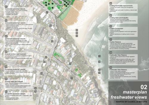 Adopted Freshwater Beach Open Space Masterplan Page 2